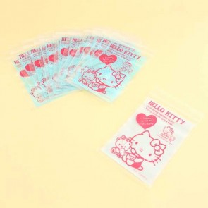 Hello Kitty Ziplock Bags- Small