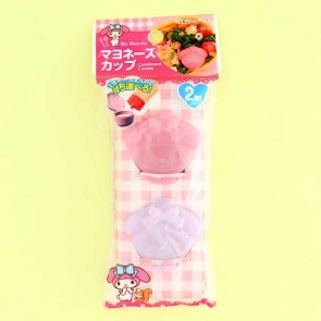 My Melody Bento Sauce Caps Set - 2pcs