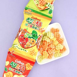 Calbee Vegetable Snacks - 4 pcs