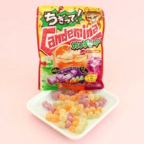 Kanro Candemina Sour Candies - Soda Flavors