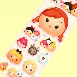 Tsum Tsum Puffy Stickers - Anna