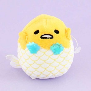 Gudetama Mermaid Bean Bag Plushie - Mini