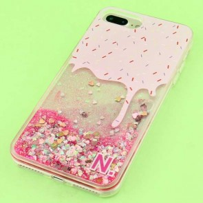 Ice Cream Glitter Protective Case for iPhone 7 / 8 Plus