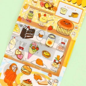Gudetama In The Cafe Stickers