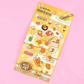 Gudetama In The Food Factory Stickers