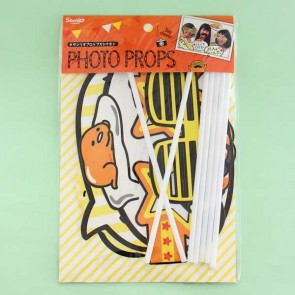 Gudetama Photo Props Set - 7 pcs