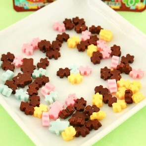 Kracie Colourful Chocolate Puzzle DIY Candy
