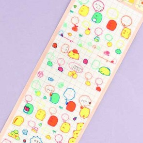 Sumikko Gurashi Highlight Pen Style Stickers - Lesson