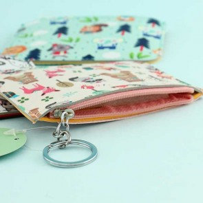 Kawaii Animal Coin Purse With Card Holder