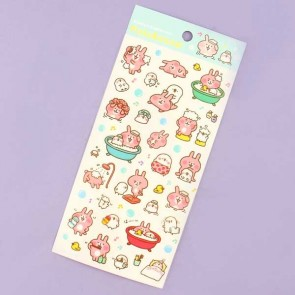 Kanahei's Piske & Usagi Stickers - Bath time