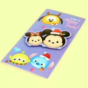 Tsum Tsum Christmas Cards Set - Mickey & Friends