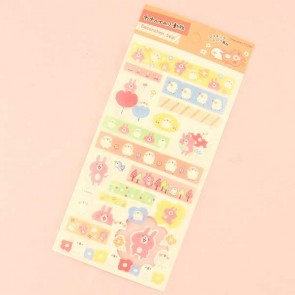 Kanahei's Small Animals Decoration Seal Stickers - Flower