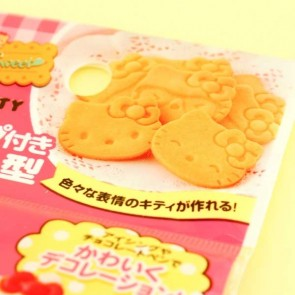 Hello Kitty Cookie Mold Set - 4 pcs