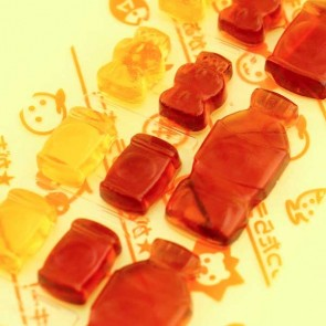 Meiji Vending Machine Cola Up Gummy Candies