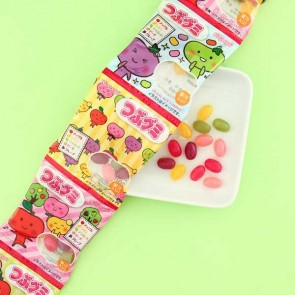 Kasugai Tsubu Fruit Gummies - 5 pcs