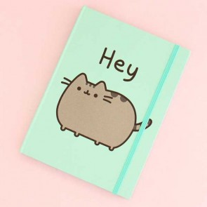 Pusheen Hey Notebook