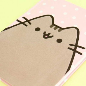 Pusheen Polka Dot Notebook