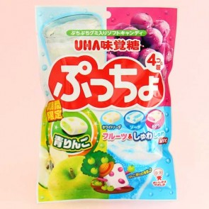 UHA Puccho Chewy Candy 4 Flavor Mix Pack