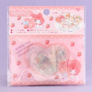 My Melody Transparent Stickers In Plastic Envelope