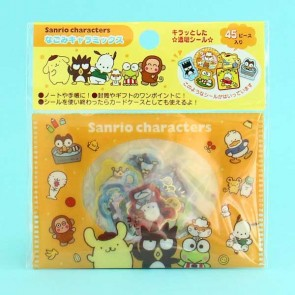 Sanrio Character Transparent Stickers In Plastic Envelope - Animals