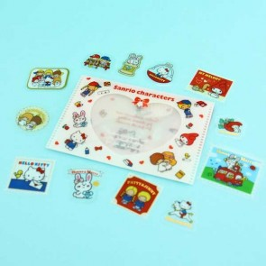 Sanrio Character Transparent Stickers In Plastic Envelope - Classics