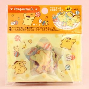 Pompompurin Transparent Stickers In Plastic Envelope