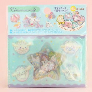 Cinnamoroll Transparent Stickers In Plastic Envelope