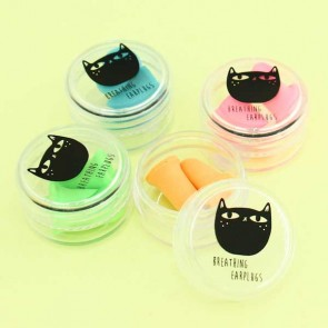 Black Cat Earplugs