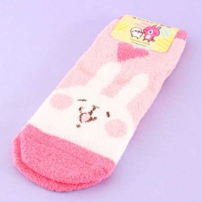 Kanahei Usagi With Heart Fluffy Socks