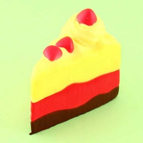 Triple Layers Cake Slice Squishy