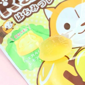 Puchi Rascal The Raccoon Honey Lemon Gummy Candies