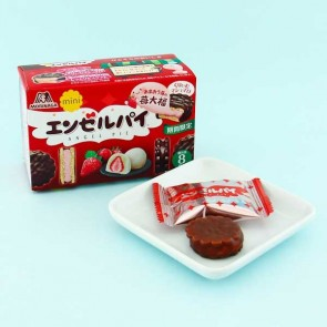 Morinaga Mini Angel Pie - Strawberry