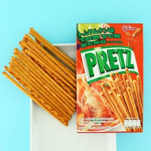 Glico Pretz Tom Yum Kung Biscuit Sticks