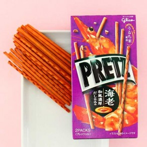 Glico Pretz Limited Edition Shrimp Biscuit Sticks