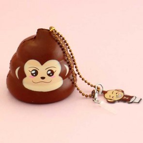 Creamiicandy Limited Edition Mini Cheeki Poop Squishy Charm
