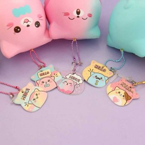 Puni Maru Marshmallow Kitty Squishy Charm