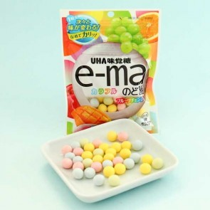 UHA e-ma Throat Candy - Changing Fruit Flavors
