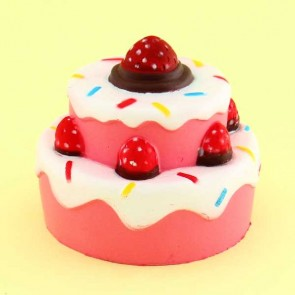 Strawberry Yummy Cake Squishy