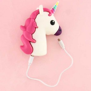 Emoji Unicorn Cartoon Power Bank