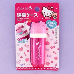 Hello Kitty Cotton Swab Case