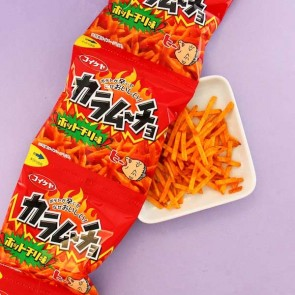 Koikeya Spicy Fries Set - 4 pcs