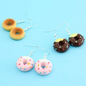 Sprinkle Doughnut Earrings