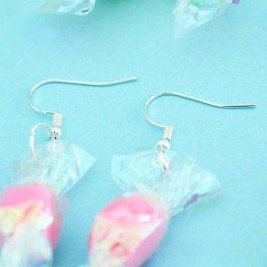 Wrapped Candy Earrings