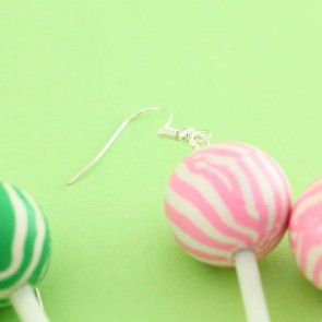 Ball Lollipop Earrings