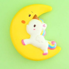 Jumbo Unicorn Flying To The Moon Squishy