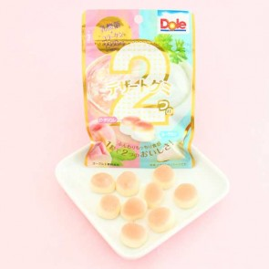Dole Gummy Candy - Dessert Peach & Yogurt