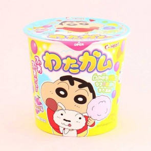 Heart Crayon Shin-chan Cotton Candy Bubble Gum
