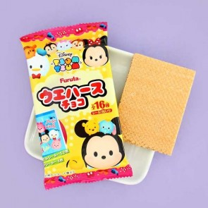 Tsum Tsum Chocolate Wafer Biscuit & Sticker Set