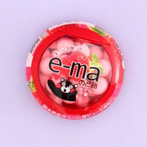 UHA e-ma Throat Candy - Kumamoto Strawberry