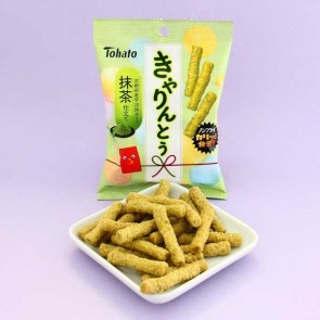 Tohato Caramel Corn Uji Mecha Matcha Green Tea